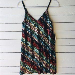 As U Wish Sequined Dress